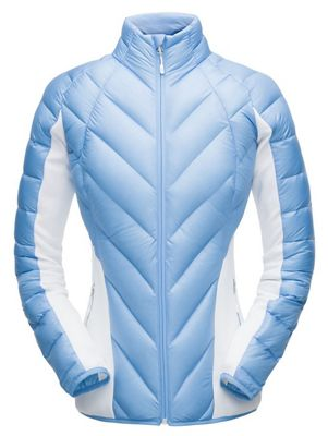 Spyder Women's Syrround Hybrid Down Full Zip Jacket
