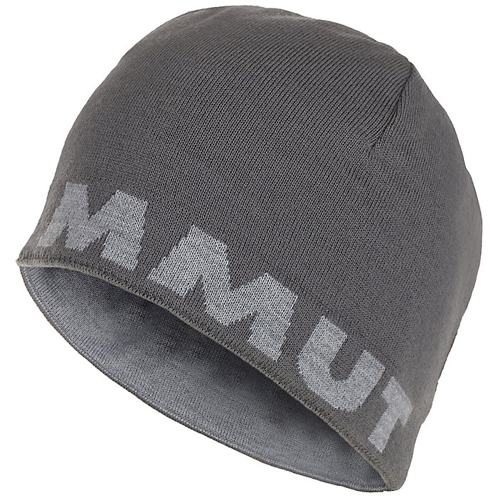 ad12e58321145 Mens Winter Hats. Mammut Logo Beanie. Double tap to zoom