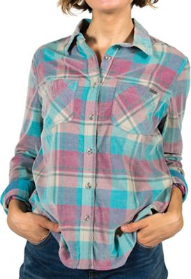 Gramicci Women's Knock On My Door Cord Plaid Shirt
