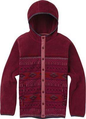 Burton Women's Hearth Snap-Up Fleece Jacket
