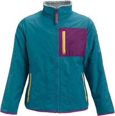 Burton Girls' Snooktwo Reversible Fleece Jacket