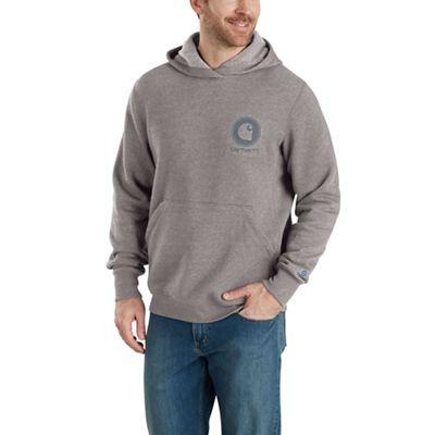 Carhartt Men's Force Delmont Pullover Hooded Sweatshirt