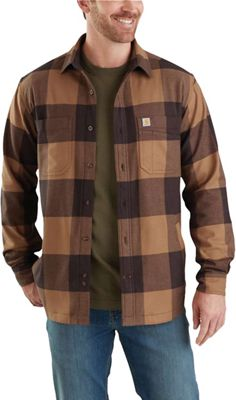 Carhartt Men's Rugged Flex Hamilton Fleece Lined Shirt