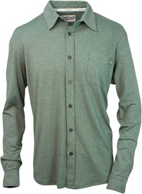 Purnell Men's Jersey Knit Button-Up LS Shirt
