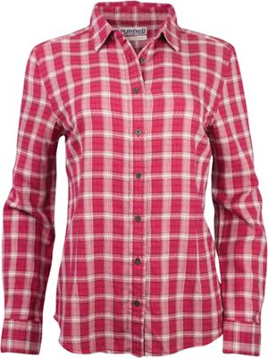Purnell Women's Vintage Flannel Button Up Shirt