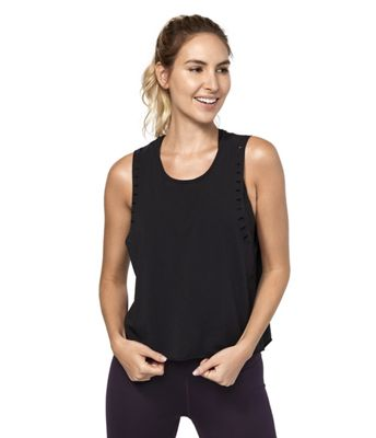 Manduka Women's Adorn Whipstitch Crop Top
