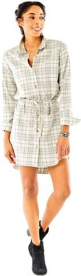 Carve Designs Women's Creston Flannel Dress