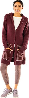 Carve Designs Women's Willamette Hooded Cardigan