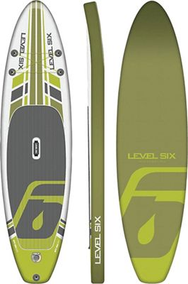 Level Six iSUP Ultra Light Inflatable SUP Board