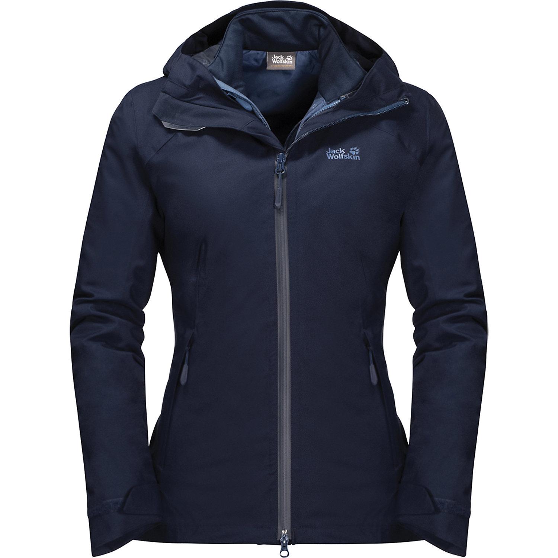 brand new 16085 b2dbd Jack Wolfskin Women's Aurora Sky 3 in 1 Jacket