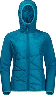 Jack Wolfskin Women's Grassland Hybrid Hooded Jacket