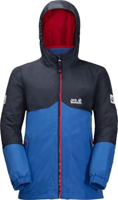 Jack Wolfskin Boys' Iceland 3 in 1 Jacket