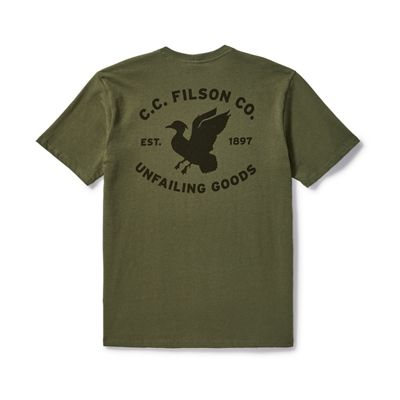 Filson Men's Outfitter SS Graphic T-Shirt