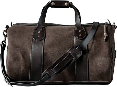 Filson Rugged Suede Duffle Bag