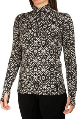 Hot Chillys Women's Jacquard Zip-T