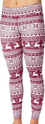 Hot Chillys Women's Micro-Elite Chamois Sublimated Print Tight