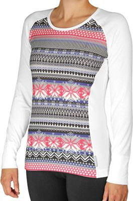Hot Chillys Women's MTF4000 Sublimated Print Scoopneck Top