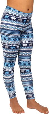 Hot Chillys Youth Originals II Print Ankle Tight