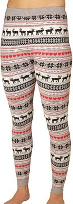 Hot Chillys Women's Sweater Knit Printed Legging