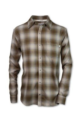 Purnell Men's Palmer Performance Plaid Flannel LS Shirt