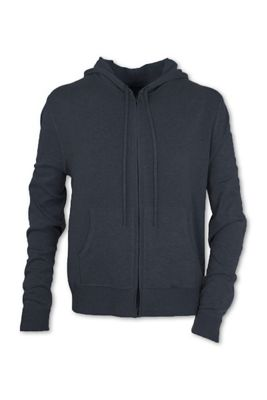 Purnell Men's Ribbed Knit Zip Up Hoodie
