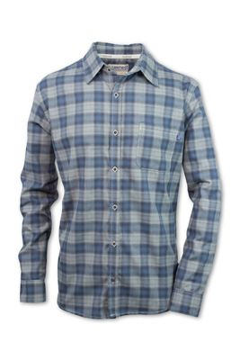 Purnell Men's Tilden Performance Plaid Flannel LS Shirt