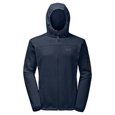 Jack Wolfskin Men's Castle Rock Hooded Jacket