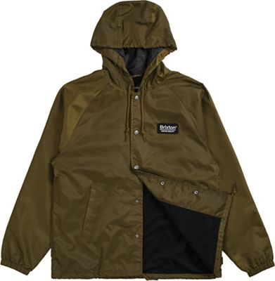 Brixton Men's Palmer Hood Windbreaker Jacket