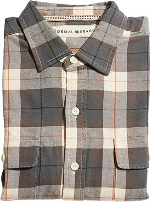 The Normal Brand Men's Bernard Flannel Shirt