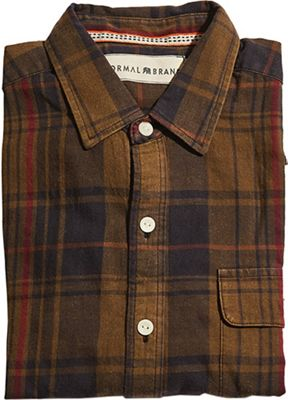 The Normal Brand Men's Gerard Washed Twill Shirt
