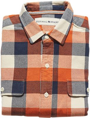 The Normal Brand Men's Hawk Double Pocket Overshirt