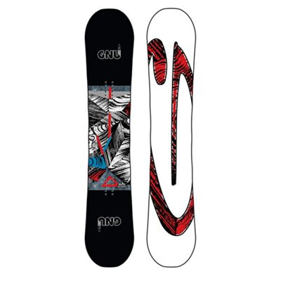 GNU Men's Carbon Credit Snowboard
