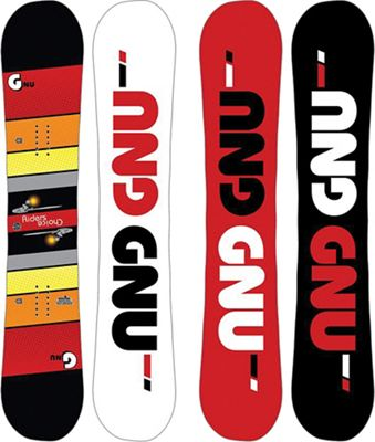 GNU Men's Rider's Choice Snowboard