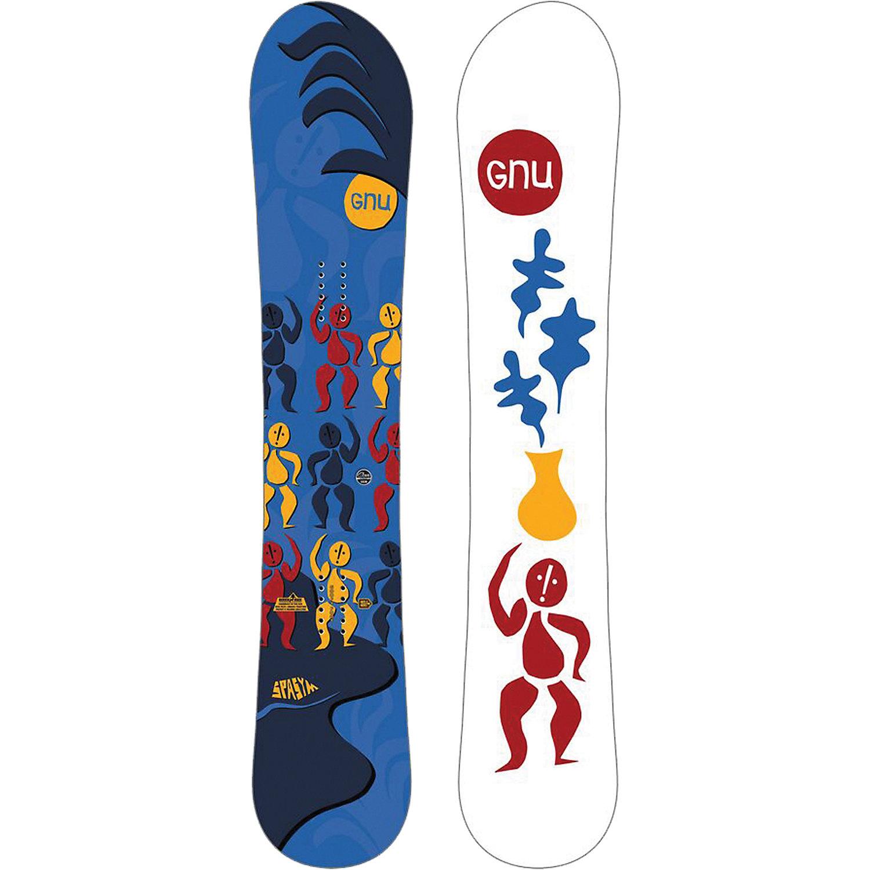 Gnu Men S Spasym Snowboard Goofy Moosejaw