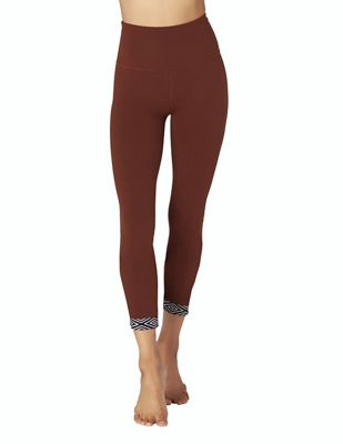 Beyond Yoga Women's Badlands High Waisted Banded Midi Legging