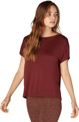 Beyond Yoga Women's Split Keyhole Back Tee
