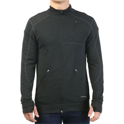 Terramar Men's Thermawool CS Full Zip Top