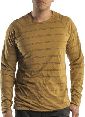 Jeremiah Men's Gunnison Reversible Stripe Crew LS Top