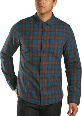 Jeremiah Men's Howler Reversible Plaid with Print LS Shirt