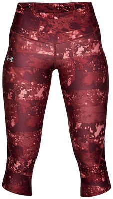 Under Armour Women's Fly Fast Printed Capri