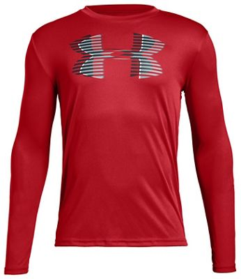 Under Armour Kids' Tech Big Logo LS Top