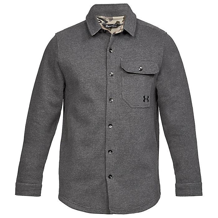 e9418cb0 Under Armour Men's Buckshot Fleece Button Up Shirt - Moosejaw