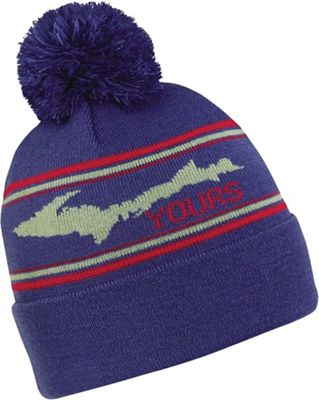 Turtle Fur Great State Poms Hat