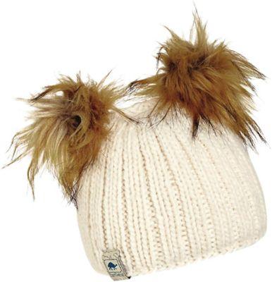 Turtle Fur Girls' Puff Balls Hat