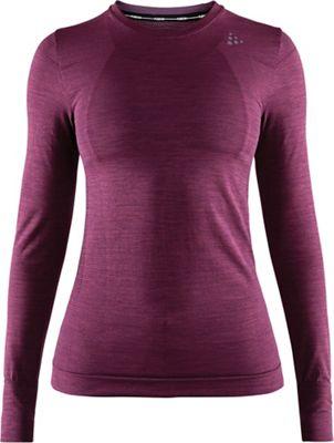 Craft Sportswear Women's FuseKnit Comfort Round Neck LS Top