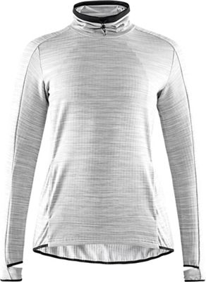 Craft Women's Sweep Grid Turtleneck LS Top