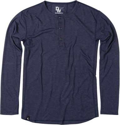 Duckworth Men's Vapor Wool Henley Shirt