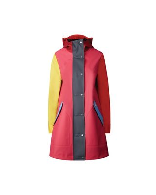 Hunter Women's Original Color Blocked Rubberised Hunting Coat