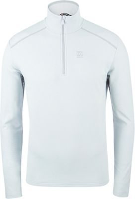 66North Men's Vik Merled Zip Neck Top