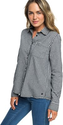 Roxy Women's Concrete Streets Check LS Top